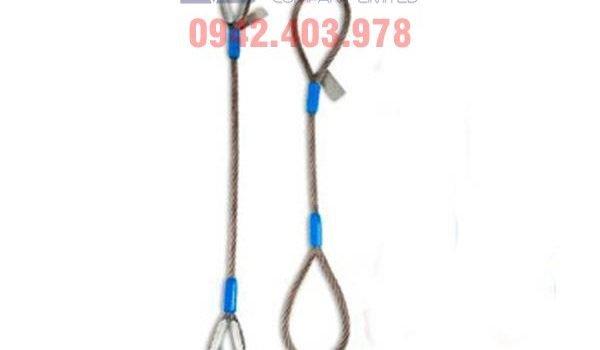 Cáp cẩu, cáp cẩu làm sling nâng hàng, Sling cáp bấm chì, Quy trình dùng cáp cẩu làm sling nâng hàng, Công ty TNHH Lê Hà ViNa, Lê Hà ViNa, cáp thép