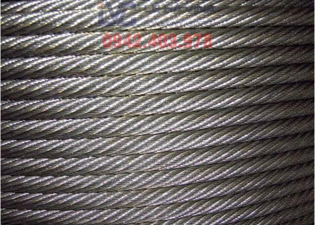 Cáp mạ kẽm 6x37+FC, Cáp mạ kẽm, Nguyên liệu chính làm nên loại cáp mã kẽm, Công ty TNHH Lê Hà ViNa, Lê Hà ViNa, sử dụng cáp mạ kẽm 6x37+FC, Cáp
