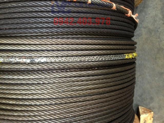 Dây cáp thép, sử dụng dây cáp thép, cáp thép, Cáp chống xoắn, Cáp cẩu, Tiêu chuẩn cáp thép dành cho các thiết bị nâng, pa lăng