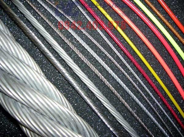 Cáp bọc nhựa, công ty TNHH Lê Hà ViNa, cáp thép, sử dụng cáp bọc nhựa, nhập khẩu cáp thép, Lê Hà ViNa