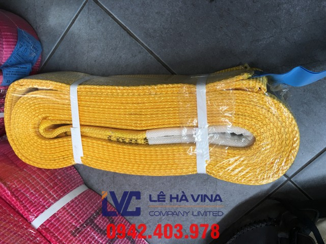 Dây cáp vải cẩu hàng, cáp vải, cáp vải cẩu hàng, cáp vải Lê Hà, dây cáp vải