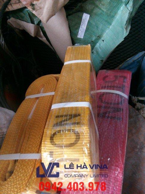 Cáp vải cẩu hàng, giá cáp vải, giá cáp vải cẩu hàng, cáp vải, cáp thép xây dựng