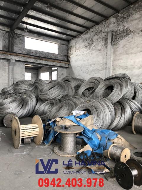 kinh doanh sắt thép, cáp thép, cáp thép xây dựng, sắp thép, cáp thép Lê Hà