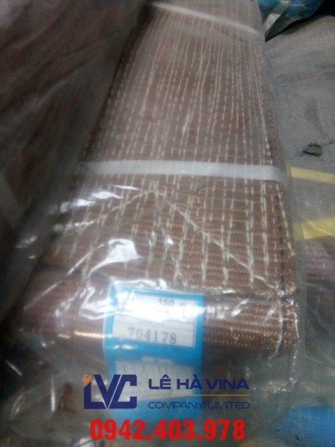 cáp vải, cáp vải cẩu hàng, Cáp vải, Cáp vải cẩu hàng, thông số kỹ thuật cáp vải