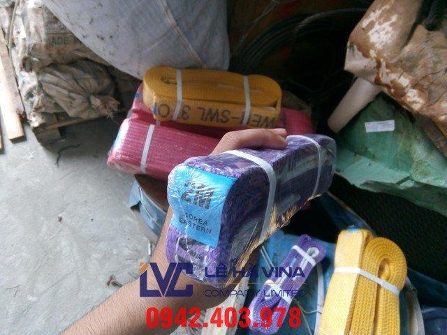 Cáp vải 2 tấn, cáp vải, Cáp vải, cáp vải 2 tấn, cáp vải cẩu hàng, cáp vải cẩu hàng 2 tấn
