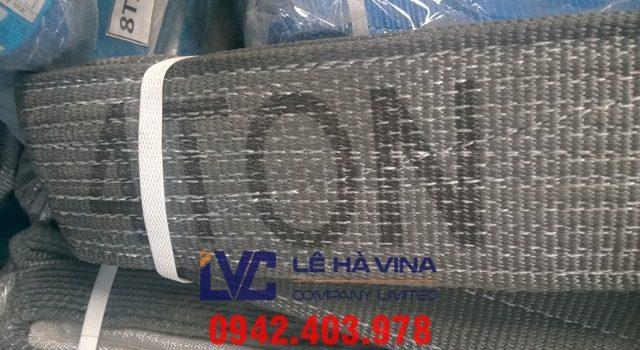 cáp vải cẩu hàng 4 tấn, cáp vải, cáp vải cẩu hàng, cáp vải 4 tấn, thông số kỹ thuật cáp vải cẩu hàng