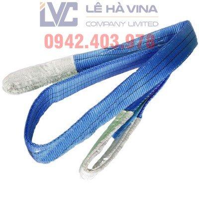 Cáp vải cẩu hàng, cáp dù, cáp bạt, dây vải nâng hàng, dây cẩu vải, cáp bẹ, Lê Hà Vina, cấu tạo của cáp vải cẩu hàng, sử dụng cáp vải cẩu hàng, Công ty TNHH Lê Hà VINA