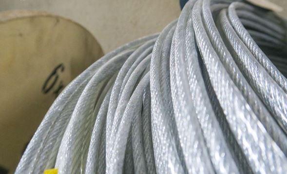 Cáp thép, Cáp thép bọc nhưa,Cáp thép bọc nhựa phi 8,Lê Hà Vina, sợi cáp thép mạ kẽm 6×12 + FC,Ứng dụng của sản phẩm cáp thép bọc nhựa phi 8