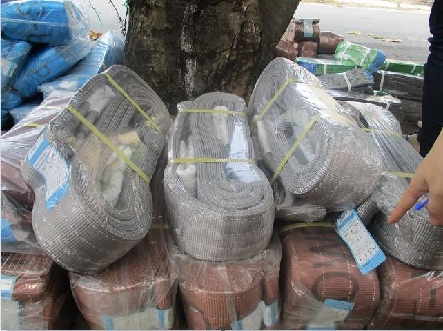 Cáp vải eastern Hàn Quốc, Cáp vải cẩu hàng, Cáp chống xoắn, Cáp thép Lê Hà Vina, Dây cáp vải cẩu hàng, Cáp lụa mạ kẽm