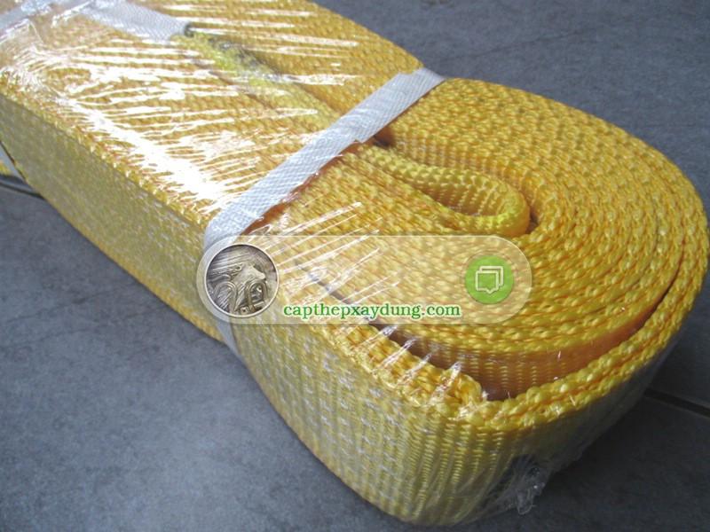 Cáp vải bàn tròn 3 tấn, Cáp vải, Cáp vải cẩu hàng, Cáp vải tròn đa dạng, Công ty TNHH Lê Hà Vina