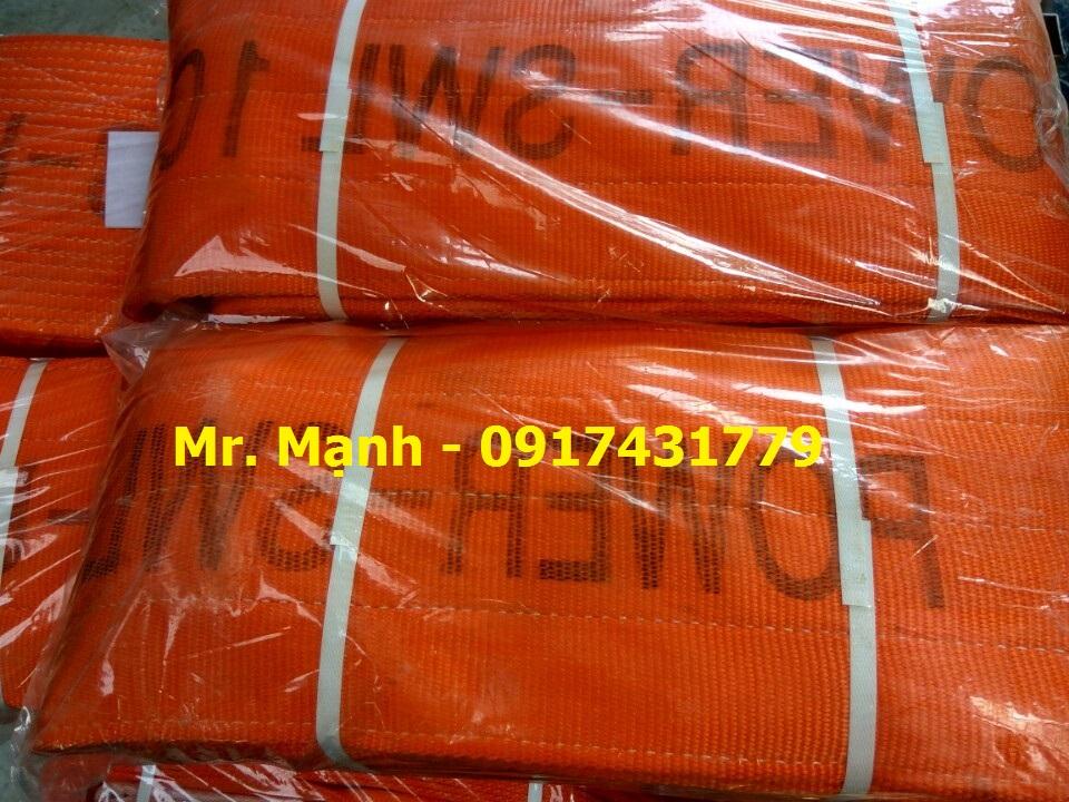 Dây cáp vải cẩu hàng 10 tấn, Sợi vải, Sợi cáp vải có tải trọng nâng, Các sản phẩm cáp vải, Dây cáp vải cẩu hàng