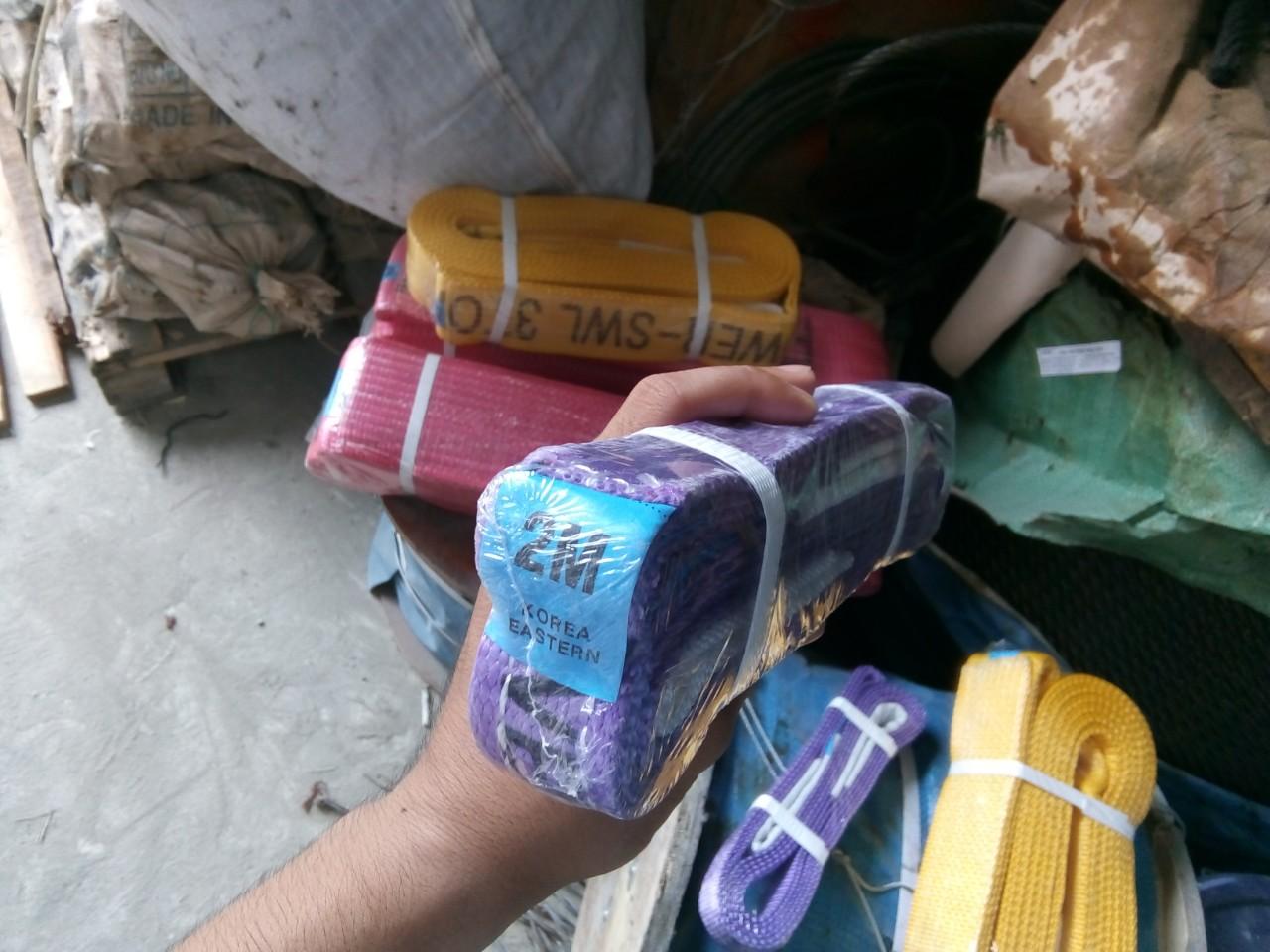 Cáp vải 1 tấn, Cáp vải, cáp vải cẩu hàng, cáp cẩu, Công ty TNHH  Lê Hà Vina, Lê Hà Vina, đơn vị cung cấp cáp vải