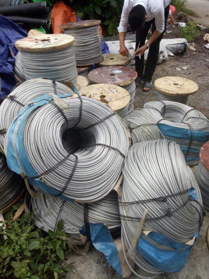 Cáp bọc nhựa phi 6, Dây cáp bọc nhựa chất lượng cao, Nhựa PVC chất lượng cao, Lõi cáp, Cáp bọc nhựa, Dây cáp bọc nhựa chất lượng cao