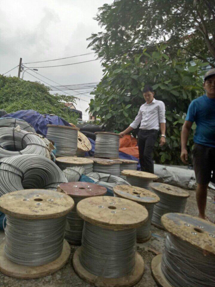 Dây cáp bọc nhựa tại TPHCM, Địa chỉ cung cấp dây cáp bọc nhựa, Bảng giá dây cáp bọc nhựa, Lớp vỏ nhựa dẻo dai, Lõi cáp