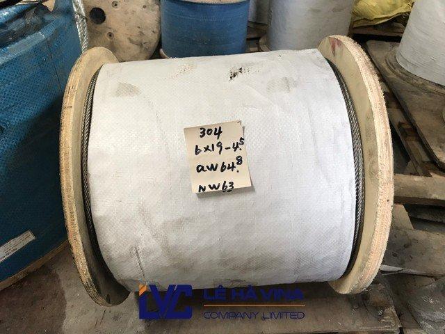 Cáp inox 304, Cáp inox, Cáp thép thông thường, Lê Hà Vina , Sử dụng cáp inox 304