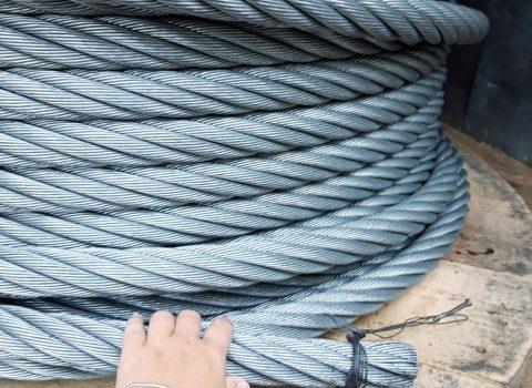 Dây cáp thép cẩu hàng D40 6x36+IWRC nhập khẩu Hàn Quốc, Dây cáp thép cẩu hàng, Dây cáp thép cẩu hàng D40 6x36, Công ty TNHH Lê Hà Vina, Cáp thép cẩu, Cáp cẩu 6x36+ IWRC phi 40